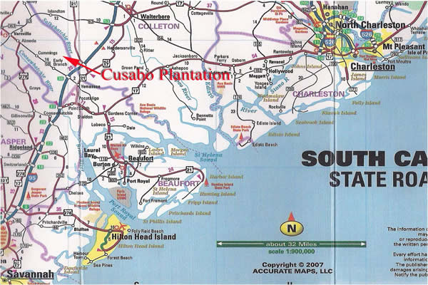 Cusabo Plantation Is 1382 Acres In The Ace Basin Yemassee