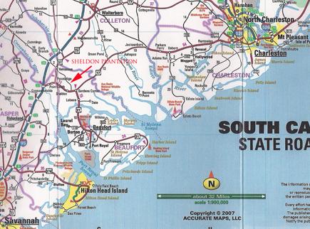 Sheldon Plantation South Carolina